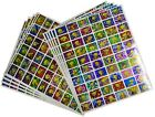 Tweety Looney Tunes 600 Stickers Self Adhesive Metallic Foil Reflective