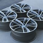 SET4 20x90 5x112 ET25MM BLACK WHEELS RIMS AUDI A5 S5 S7 A7 A8 SQ5 RS5 RS6 RS7