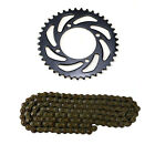 420 108 Links Chain + 76mm 41T Rear Sprocket 110 125CC 50cc Taotao ATV Dirt Bike