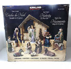 Kirkland Signature Nativity 12 Piece Set Hand Painted Christmas Creche 979597