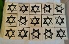 New 15 Rubber Stamp Star Of David Abstract Judaica Invitations Note Cards Crafts