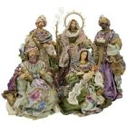 Mark Roberts 2020 Collection Nativity Purple Set of 5 Figurines
