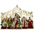 Mark Roberts 2020 Collection Tableau Nativity Red Set of 5 Figurines