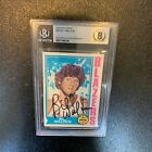 1974-75 Topps Bill Walton Signed Autographed Rc Rookie Basketball Card #39 BGS