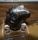 50 Gm  CANYON DIABLO IRON METEORITE  TOP GRADE ARIZONA STAND INCLUDED