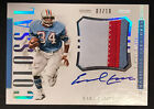 Earl Campbell 2018 Panini Treasures Colossal 3cl Patch Auto Autograph Sp 10