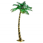 5 FT Artificial Lighted Palm Tree 56LED Lights Decoration Home Party Nativity