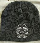 Star Wars Beanie Hat NWOT Gray storm troopers