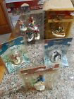 Lemax Lot Of Holiday Village Skiing Figures People