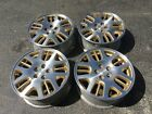 SUBARU FORESTER 16 ORIGINAL FACTORY ALLOY MACHINED + GOLD OEM WHEELS USED