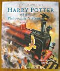 Harry Potter and the Philosophers Stone Illustrated ARTIST SIGNED Jim Kay