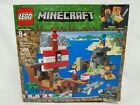 Lego Minecraft The Pirate Ship Adventure Set 21152 386 pcs New Dented Box