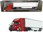 2018 Freightliner Cascadia Utility Trailer 1 64 Diecast Model by DCP First Gear
