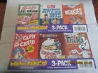 2010 WACKY PACKAGES ANS7 FACTORY SEALED CEREAL 6 - BOX SET