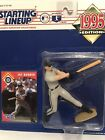 1995 Starting lineup Jay Buhner Baseball figure Toy Card Seattle Mariners