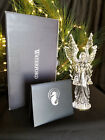 WATERFORD CRYSTAL NATIVITY CELESTIAL ANGEL OF LIGHT FIGURINE / SCULPTURE  ** NEW