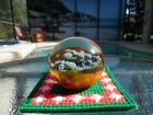 RARE Vintage Milropa 79 IV 3090 Glass Paperweight 2 3 4 X 2 1 2 BEAUTIFUL Sea