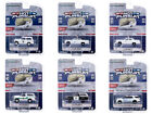 Hot Pursuit Set of 6 Police Cars Series 35 1 64 Diecast Model Cars Greenlight