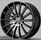 NEW4 20X85 20X95 5X112 WHEELS MERCDES BENZ E350 CLS E S CLASS 350 550 600 63