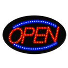 Bright Led Neon Light Animated Motion W Onoff Store Open Business Sign