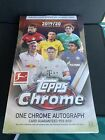 2019 20 Topps Chrome Bundesliga Soccer Hobby Box Sealed