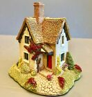 Lilliput lane miniature cottage Rare red flowers gamekeepers signed 1991.