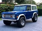 1969 Ford Bronco 1969 Ford Bronco base 1823 Miles FRAME OFF RESTO Car Select 3 Speed 302 4x4