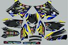 Decals for Suzuki RM250 RM 250 GRAPHICS 2001-2012 POLISPORT RESTYLE plastic