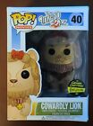 Funko Pop! WIZARD OF OZ Cowardly Lion Flocked Gemini Exclusive