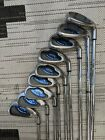 CALLAWAY Steelhead X 16 3 LW IRONS IRON Set X16 Steel S300 STIFF FLEX Golf Clubs