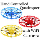 Hand controlled Mini Quadcopter Helicopter Drone Toy Smart Camera Gift Kids