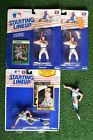 Lot of 3 Paul Molitor KENNER Starting Lineup Action Figures & Baseball Cards