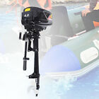 4 HP 1000W HANGKAI Brushless Electric Boat Outboard Motor 48V Boat Engine US