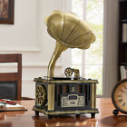 Mini Vintage Retro Classic Gramophone Phonograph BT42 Speaker Sound System X7B3