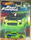 2018 Hot Wheels Fast  Furious Original Fast 2 5 95 MITSUBISHI ECLIPSE Green wRR
