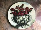 New John Derian Signed Glass 10 1 8 CATUS Plate