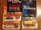 hot wheels Camaro Lot of 5 67 Camaros Some with Real Riders