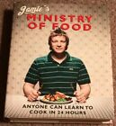 Jamies Ministry Of Food by Jamie Oliver Autographed Hardcover Book RARE