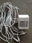 Lemax AC Power Adaptor 4 Output Jacks  Christmas Village  #54100
