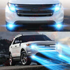 For Ford Explorer 2011 2015 4pc Combo LED Headlights Fog Light Bulbs Kit 8000K