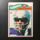 Top 10 Steve Largent Football Cards 25