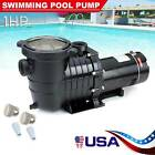 1HP In Ground Swimming Pool Pump Spa Motor Strainer Above Ground USA