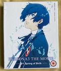 Sealed Persona 3 The Movie 1 Spring Of Birth Blu Ray + DVD Coll Edition Booklet