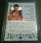 2013 Topps UFC Bloodlines Trading Cards 8