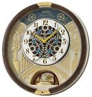 New Seiko Melodies in Motion 2020 Animated Musical Christmas Carol Wall Clock