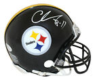 Chase Claypool Autographed Signed Pittsburgh Steelers Mini Helmet BAS 28315