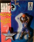 SHAQUILLE O'NEAL ALL-STAR SHAQ - 1993 Kenner 7in. unopened mint figure w/base
