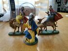 Fontanini Italy Christmas Nativity 4 45 Wise Men on Camels Set of 3