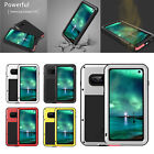 LOVE MEI Waterproof Aluminum Metal Tempered Glass Case For Samsung S10 S9 Note10