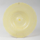 Venini Murano Italian Art Glass Charger